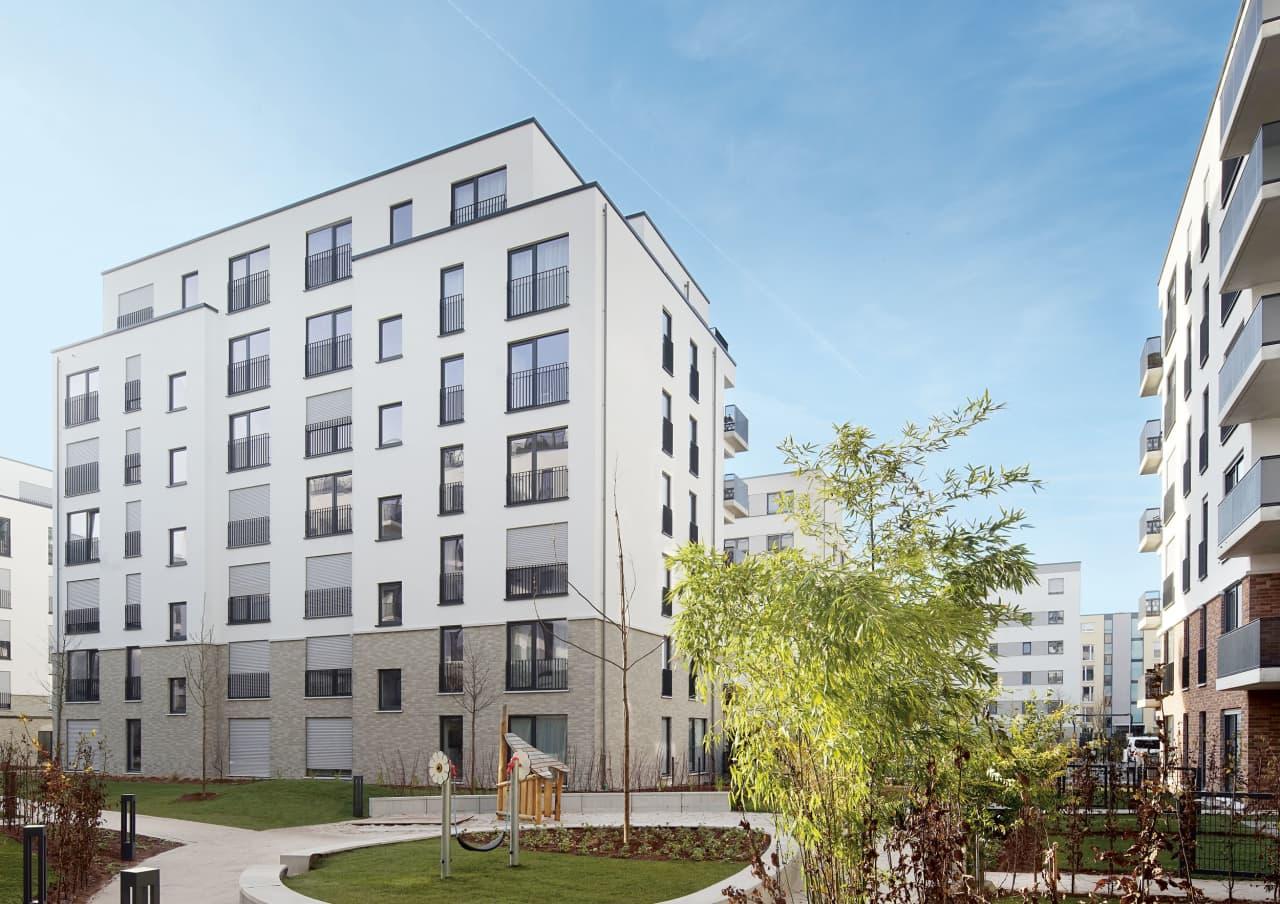 2016 Erstvermietung von 182 Wohnungen | Frankfurt-Europaviertel
