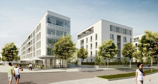 2015-2013 Verkauf von 143 Eigentumswohnungen und 6 Gewerbeeinheiten | Frankfurt-Riedberg