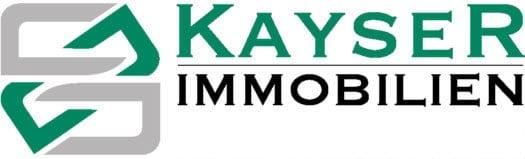 Hier sehen Sie das Logo von KAYSER Immobilien