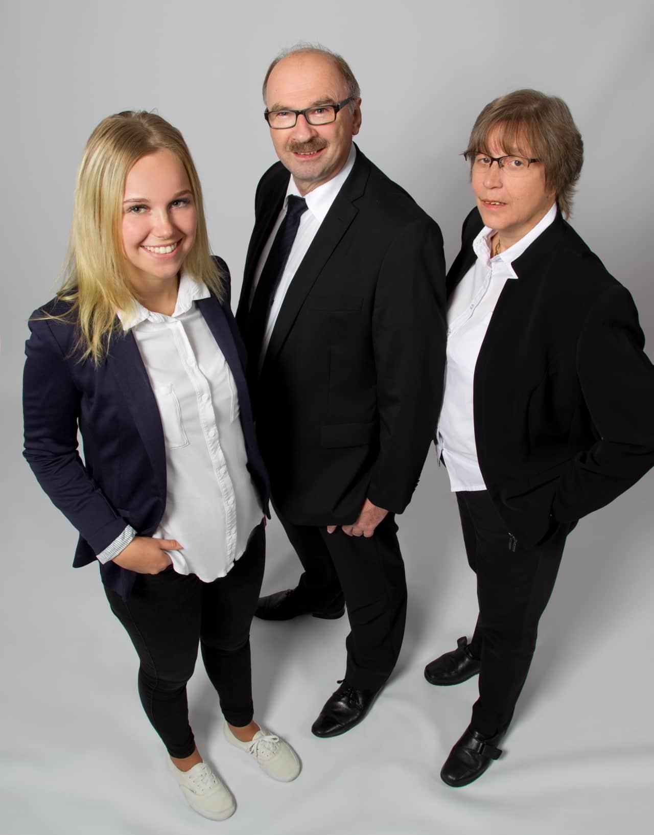 Ricarda Bade, Ernst und Sigrid Kälber
