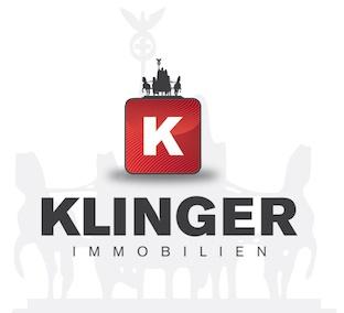 Hier sehen Sie das Logo von KLINGER Immobilien