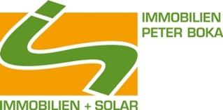 Hier sehen Sie das Logo von Immobilien und Solar