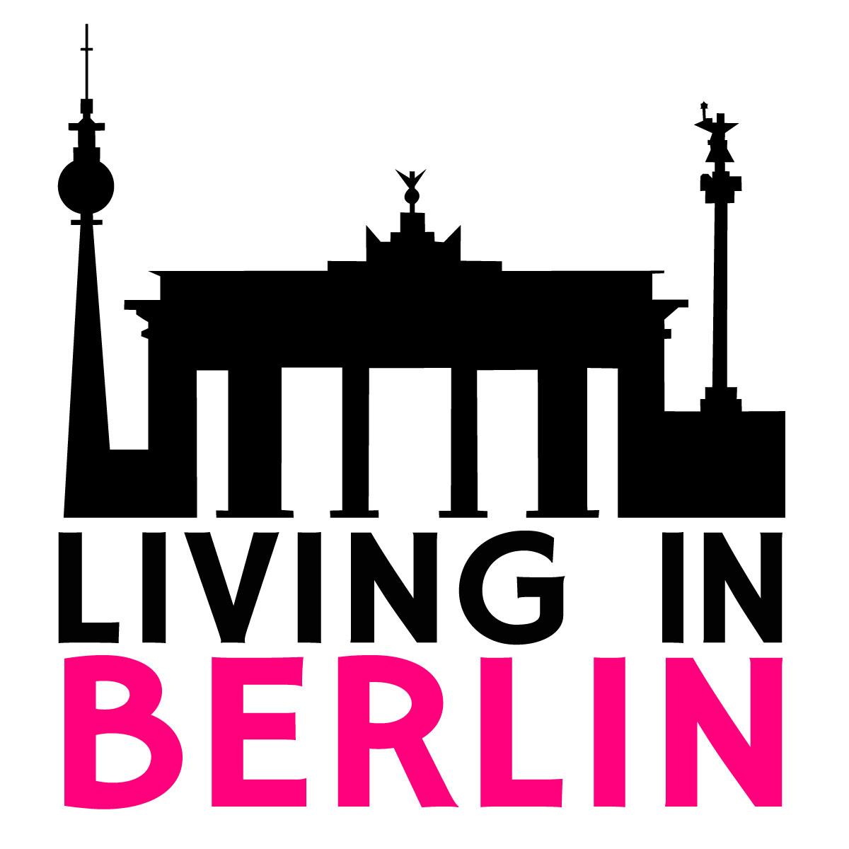 Hier sehen Sie das Logo von Living in Berlin e.K.