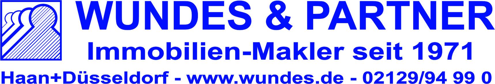 Hier sehen Sie das Logo von Wundes - Ihr Makler - GmbH in Haan