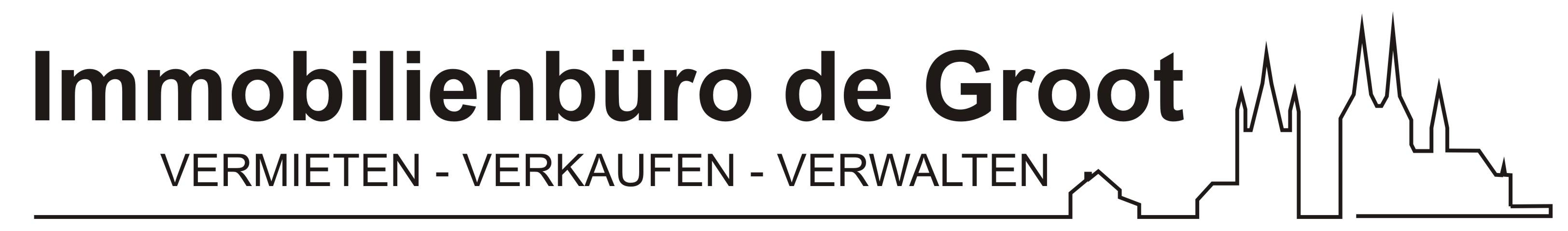 Hier sehen Sie das Logo von Immobilienbüro de Groot