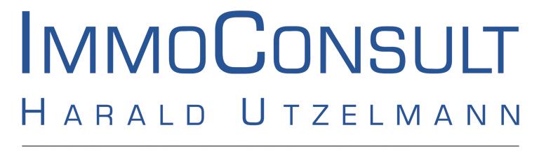 Hier sehen Sie das Logo von ImmoConsult HARALD UTZELMANN