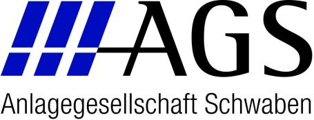 Hier sehen Sie das Logo von AGS - Anlagegesellschaft Schwaben mbH