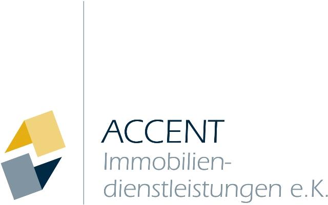 Hier sehen Sie das Logo von Accent Immobiliendienstleistung e.K.