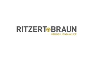 Hier sehen Sie das Logo von Ritzert+Braun Immobilienmakler