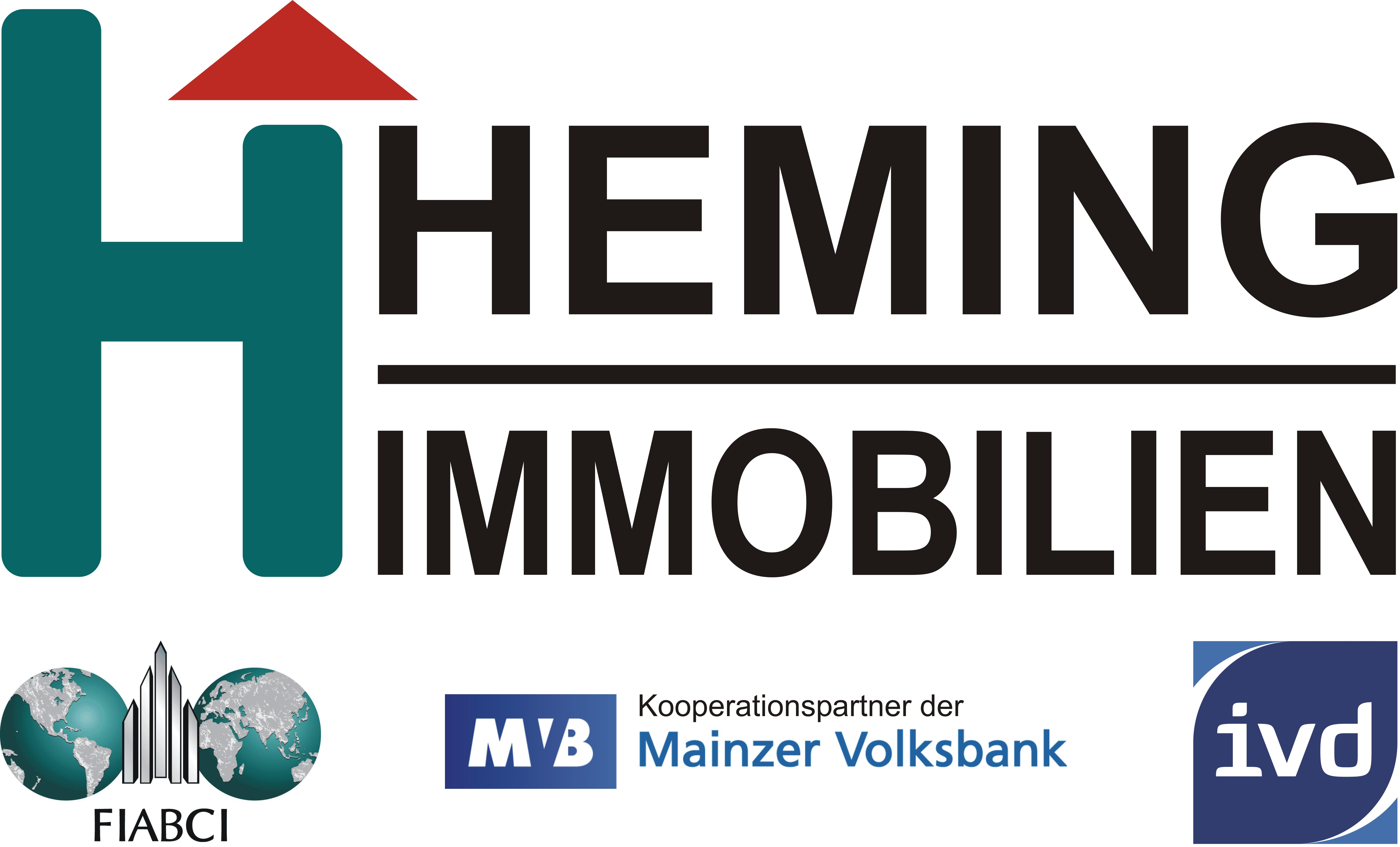 Hier sehen Sie das Logo von HEMING-IMMOBILIEN