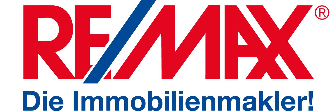 Hier sehen Sie das Logo von RE/MAX Immobilien