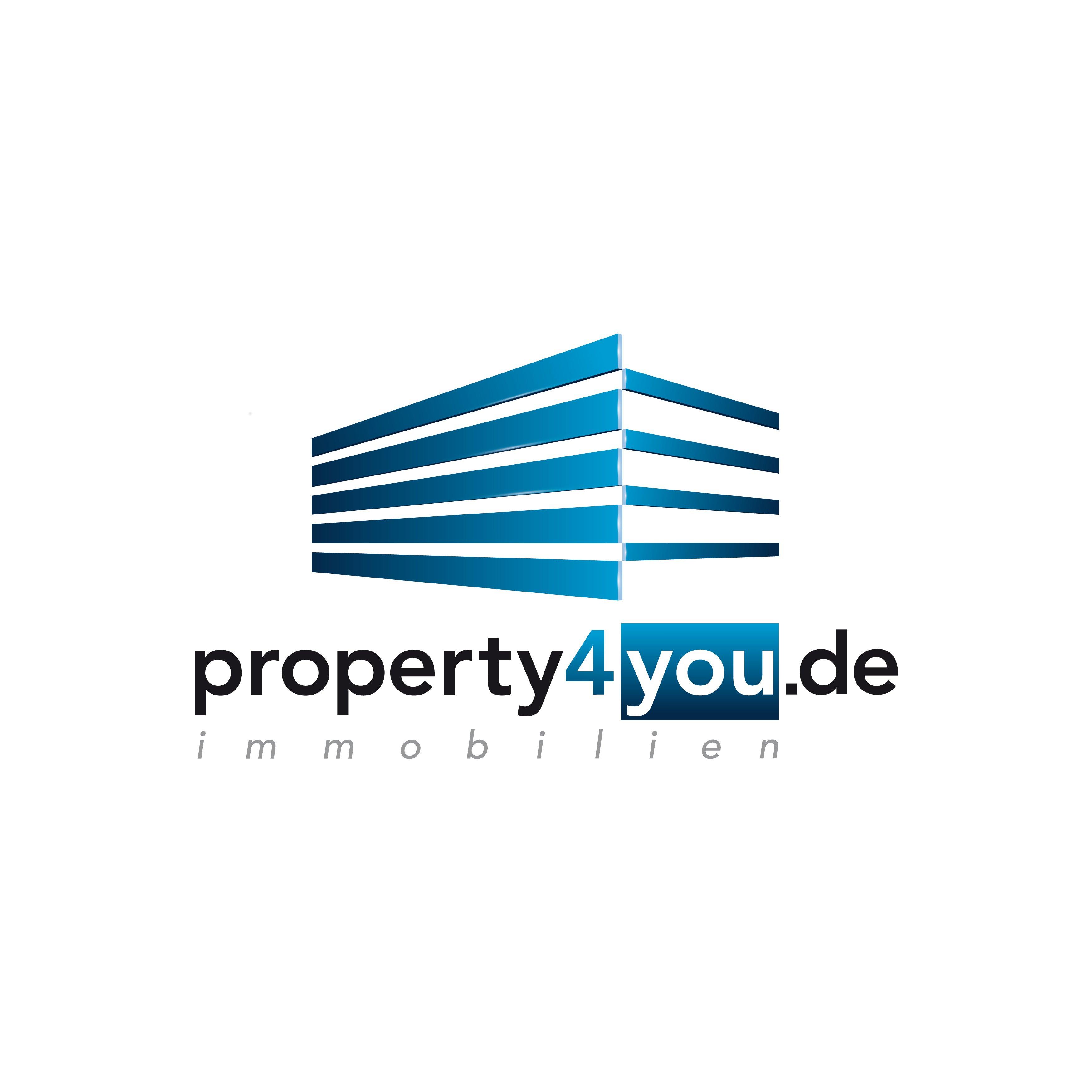 Hier sehen Sie das Logo von property4you.de