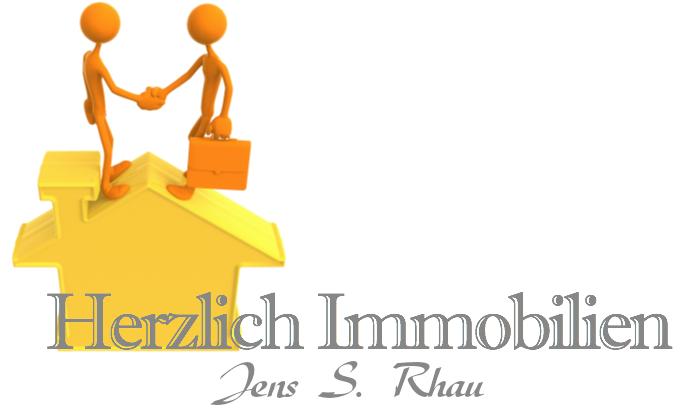 Hier sehen Sie das Logo von Herzlich Immobilien