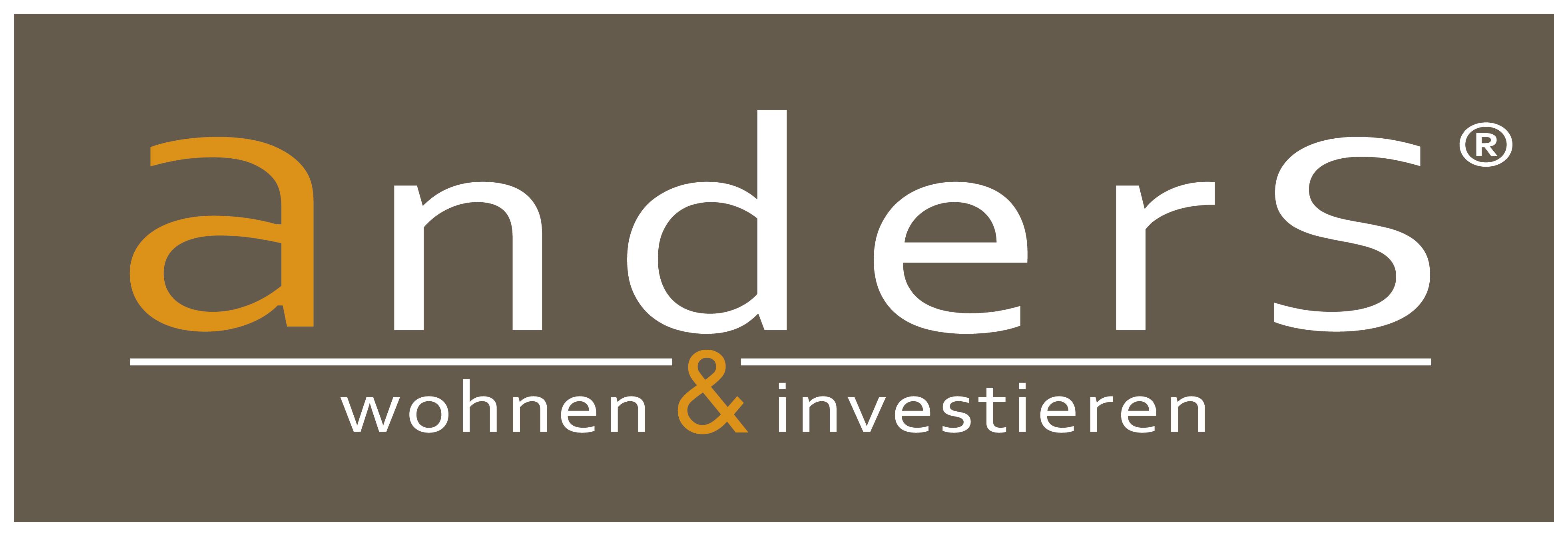 """Hier sehen Sie das Logo von """"anders wohnen&investieren"""""""