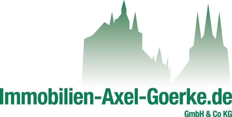 Hier sehen Sie das Logo von Immobilien-Axel-Goerke.de GmbH & Co KG
