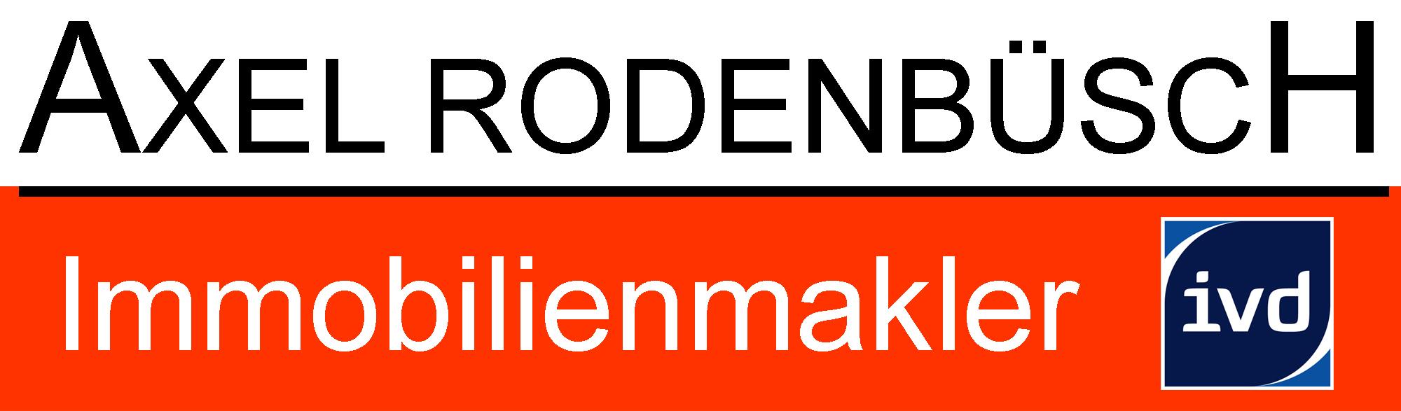 Hier sehen Sie das Logo von Axel Rodenbüsch, Immobilienmakler IVD