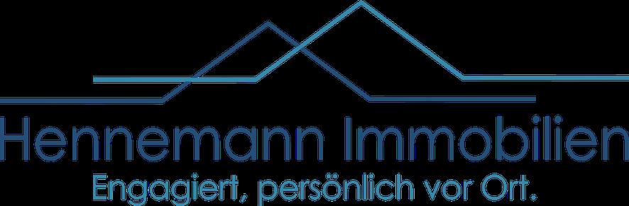 Hier sehen Sie das Logo von Hennemann Immobilien