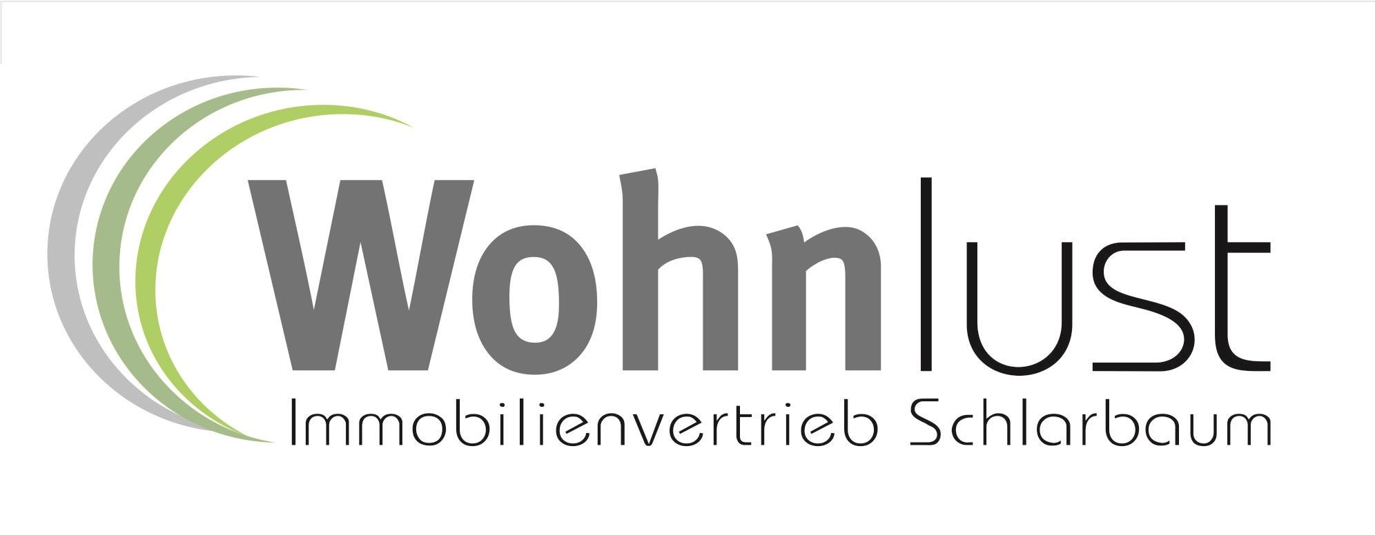 Hier sehen Sie das Logo von Wohnlust Immobilienvertrieb Schlarbaum