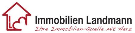 Hier sehen Sie das Logo von Immobilien Landmann