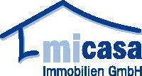 Hier sehen Sie das Logo von mi Casa GmbH