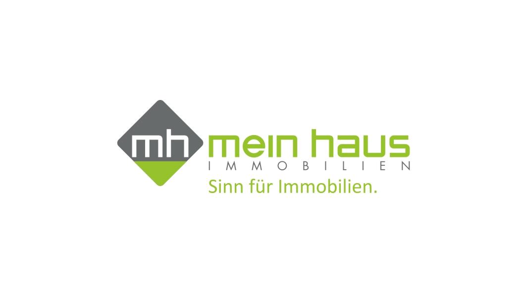 Hier sehen Sie das Logo von meinhaus Immobilien