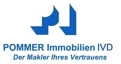Hier sehen Sie das Logo von POMMER Immobilien ivd