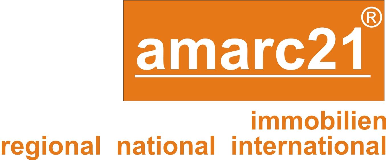 Hier sehen Sie das Logo von amarc21 Immobilien Münster