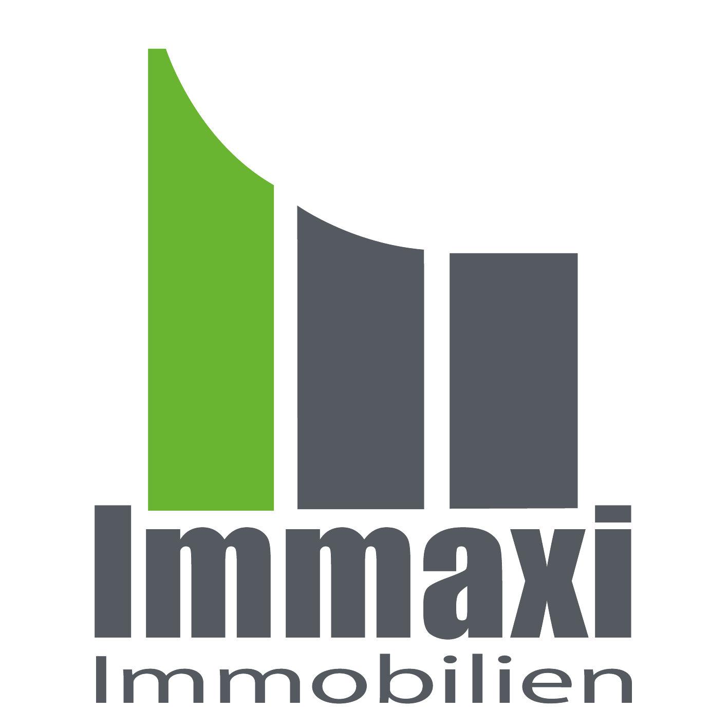 Hier sehen Sie das Logo von Immaxi Immobilien