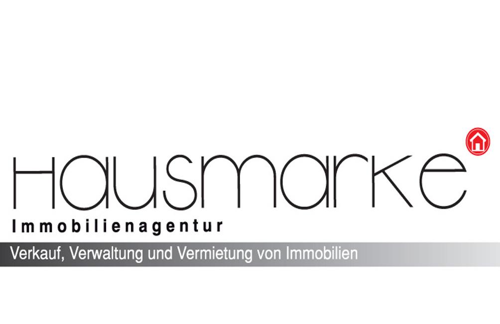 Hier sehen Sie das Logo von Hausmarke Immobilienagentur