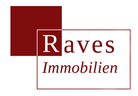 Hier sehen Sie das Logo von Raves  Immobilien