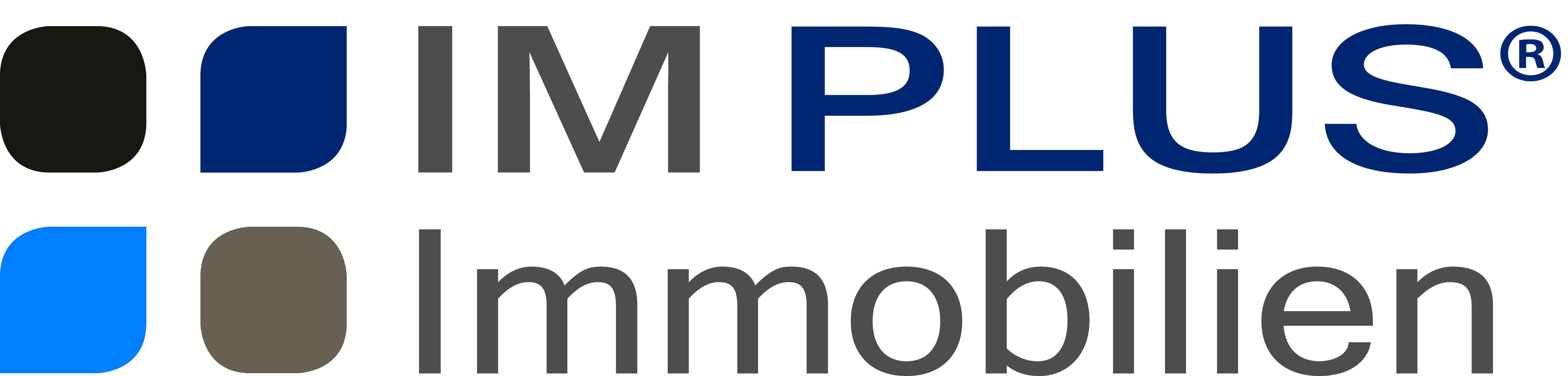 Hier sehen Sie das Logo von IM PLUS Immobilien GmbH