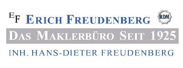 Hier sehen Sie das Logo von EF Erich Freudenberg - Das Maklerbüro seit 1925