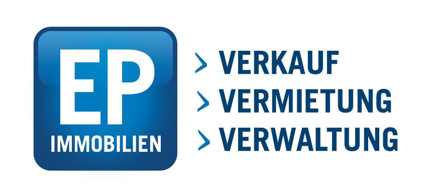 Hier sehen Sie das Logo von EP IMMOBILIEN