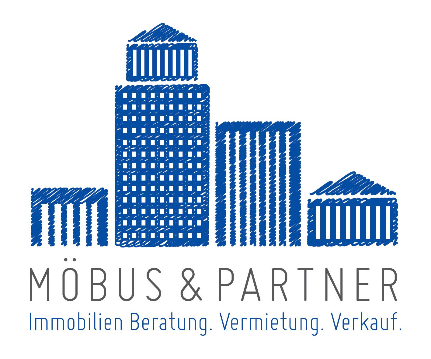 Hier sehen Sie das Logo von Möbus & Partner Immobilien