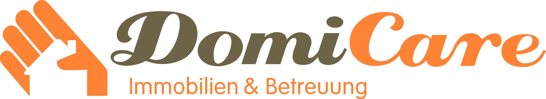 Hier sehen Sie das Logo von DomiCare Immobilien & Betreuung GmbH