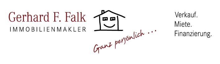 Hier sehen Sie das Logo von Gerhard F. Falk Immobilien