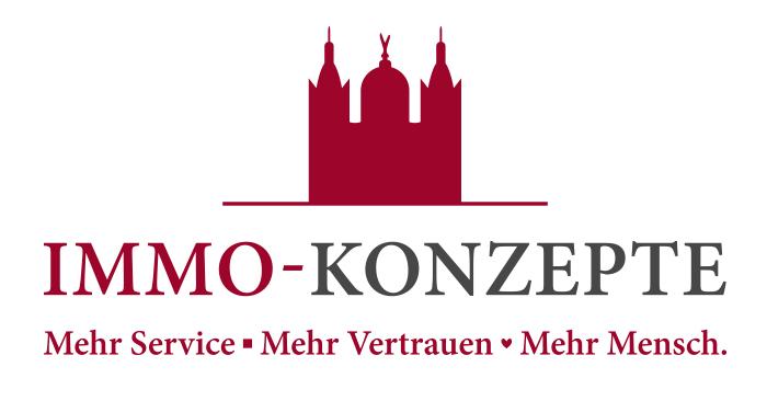 Hier sehen Sie das Logo von IMMO-KONZEPTE-Immobilien GmbH