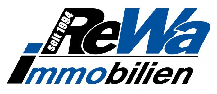 Hier sehen Sie das Logo von ReWa Immobilien GmbH