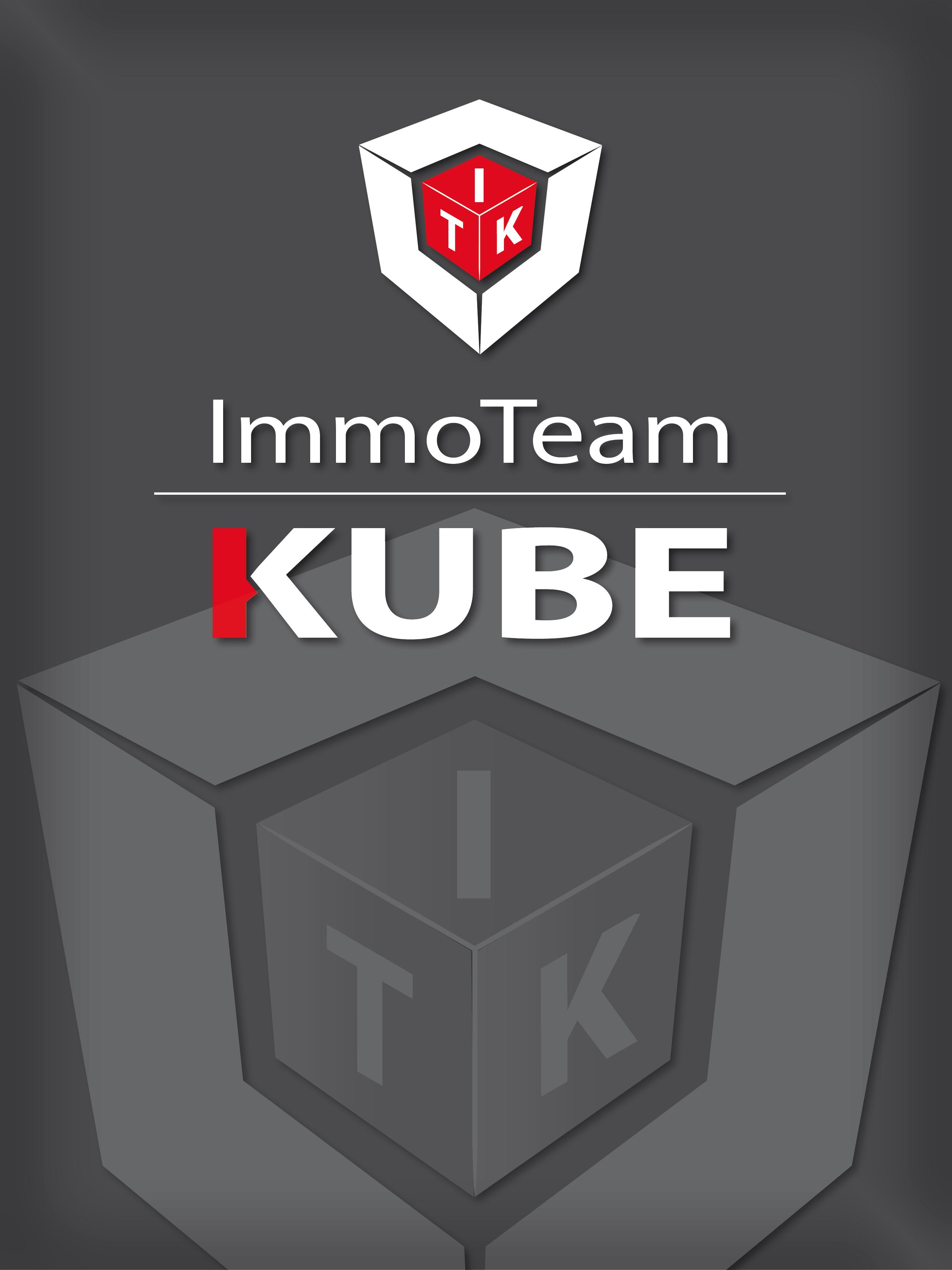 Hier sehen Sie das Logo von ImmoTeam Kube