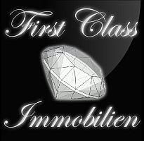 Hier sehen Sie das Logo von First Class Immobilien