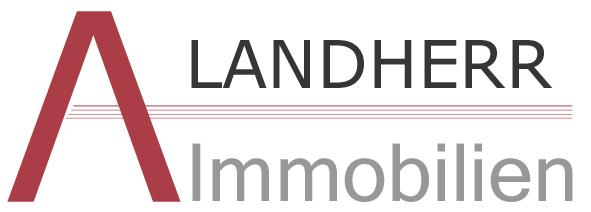 Hier sehen Sie das Logo von LANDHERR Immobilien