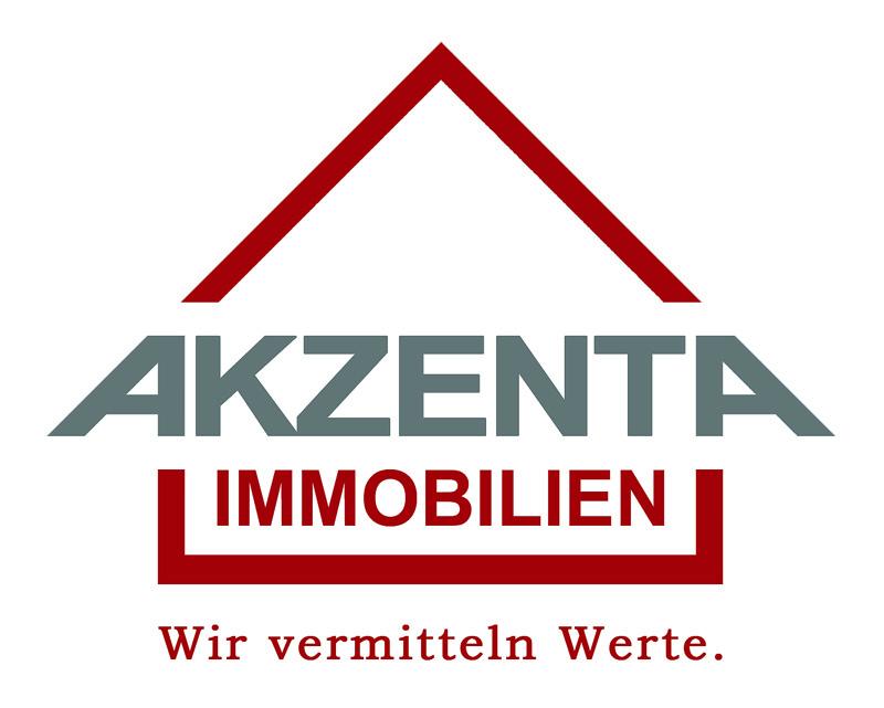 Hier sehen Sie das Logo von AKZENTA Immobilien