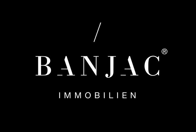 Hier sehen Sie das Logo von BANJAC Immobilien