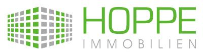 Hier sehen Sie das Logo von HOPPE IMMOBILIEN