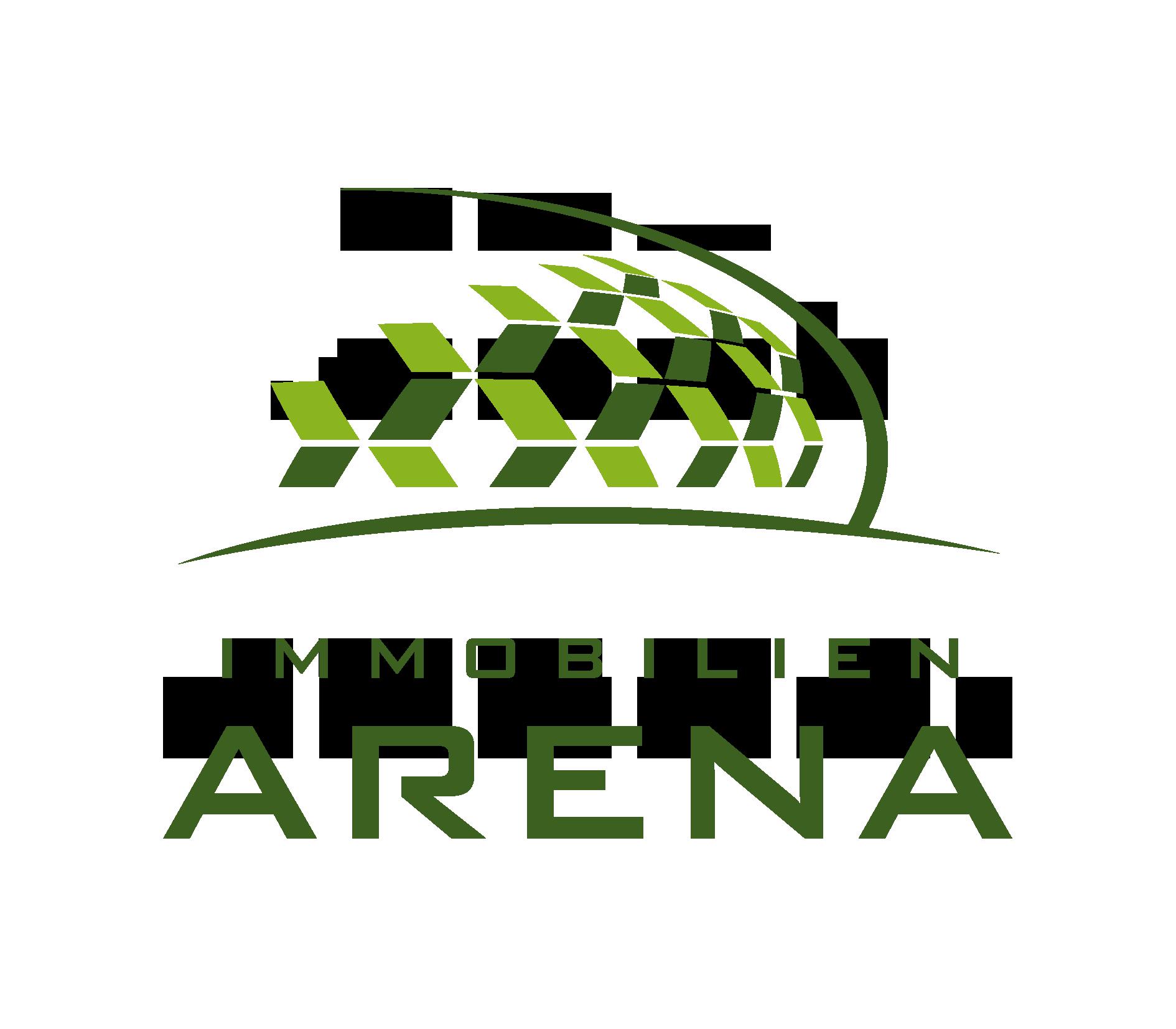 Hier sehen Sie das Logo von Immobilien-Arena GmbH