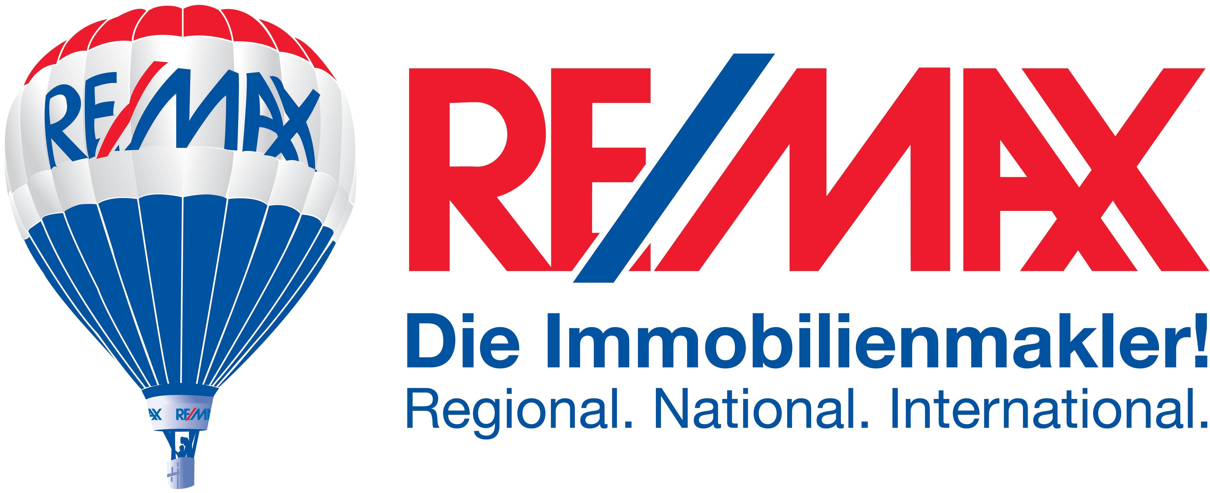 Hier sehen Sie das Logo von RE/MAX Straubing Immobilien