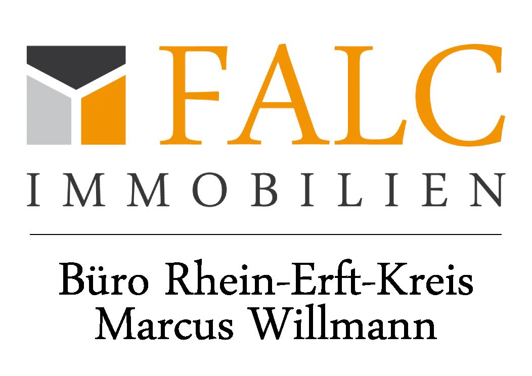 Hier sehen Sie das Logo von FALC Immobilien Rhein-Erft-Kreis