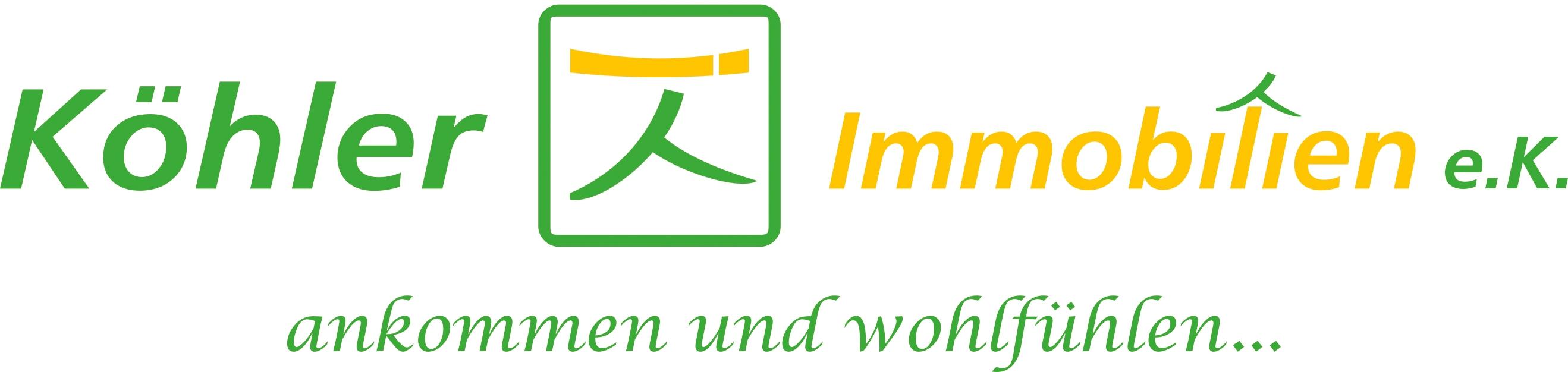Hier sehen Sie das Logo von Köhler Immobilien e.K.