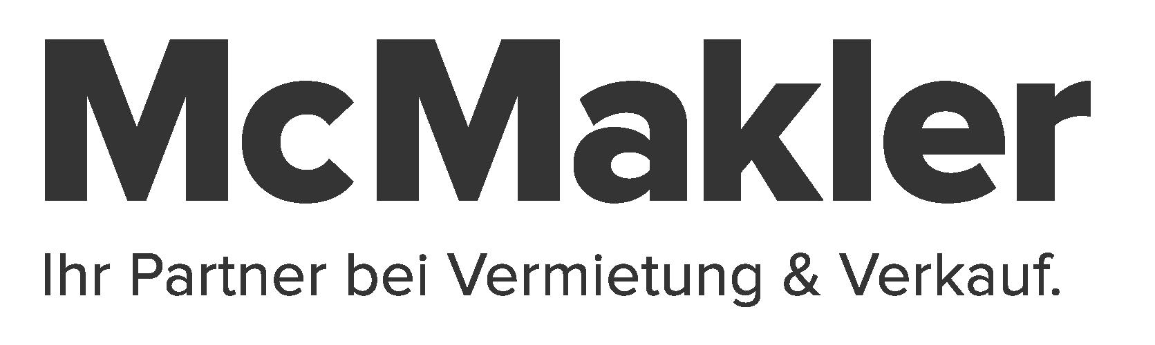 Hier sehen Sie das Logo von McMakler GmbH