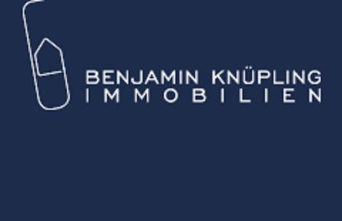 Hier sehen Sie das Logo von Benjamin Knüpling Immobilien